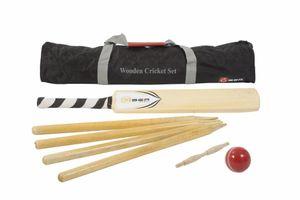 Cricket-Set aus Holz - Hergestellt in Indien Size SH senior