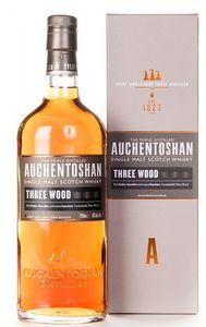 Auchentoshan Three Wood Single Malt Scotch Whisky Triple Distilled | 43 % vol | 0,7 l