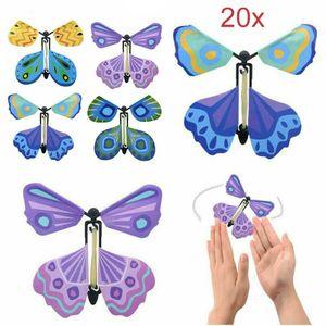 20x Magic Butterfly DIY Magischer Spielzeug magischer fliegender Schmetterling