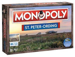 Monopoly St. Peter-Ording Stadt City Edition Gesellschaftsspiel Brettspiel Spiel