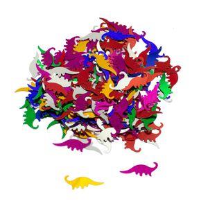 Oblique Unique Dino Konfetti bunt Kinder Geburtstag Dinosaurier Tisch Deko Streudeko