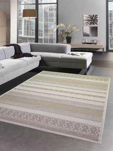 Indoor & Outdoor Teppich Sisal Balkon Küche Terrasse Wohnzimmer - Rautenmuster Diamant - beigefarben Größe - 80x150 cm