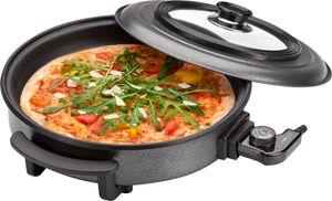 CLATRONIC Pizza /Partypfanne PP 3402 rund 1.500 Watt schwarz