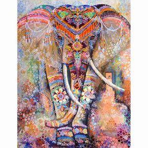 10-12 Mandala Elefant (A) $ 1000 Pian Holz-Puzzle