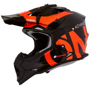 Oneal 2Series RL Slick Jugend Motocross Helm Farbe: Orange, Grösse: S (49/50)