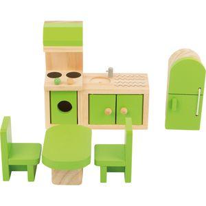 Small Foot 10873 Puppenhausmöbel Küche, 5-teilig (1 Set)