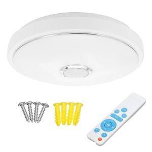 36W moderne RGB 60 LED Deckenleuchte bluetooth Lautsprecher Lampe APP Fernbedienung