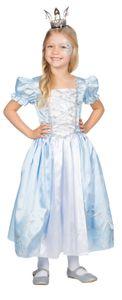 Rubie's Prinzessin Kostüm Königin Eiskönigin Elsa Anna Mädchen Karneval Fasching Kleid Türkis/Weiß 104
