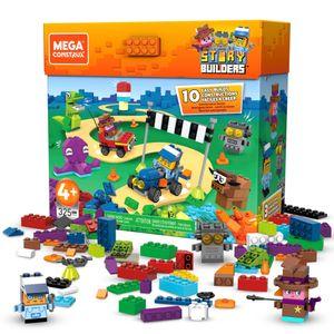 Mega Construx Storybuilders Ultimate Storybox (325 Teile), Kinder-Spielzeug, Bauset