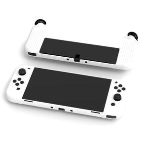 Hülle für Nintendo Switch OLED, Kratzfest Rückseite Abdeckung Schutzhülle, leichte Cover Kompatibel mit Nintendo Switch OLED