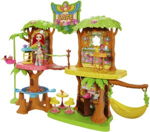 Enchantimals Dschungelwald-Café Spielset