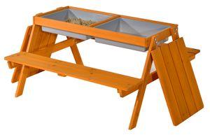 GASPO Picknick-Spieltisch mit Matschf?chern Gustav