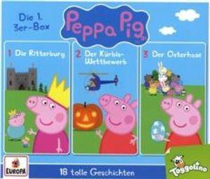 Peppa Pig Hörspiel - 3er Box 01 (Folgen 1 , 2, 3)