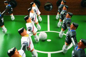 Best Sporting Kicker - Trikots ITALIEN, blau, Variante:Italien