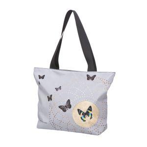 Goebel Artis Orbis Joanna Charlotte  Grey Butterflies - Shopper 26150341