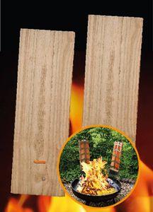 2er-Set Ersatz-Flammlachsbretter (45x15 cm) 2355