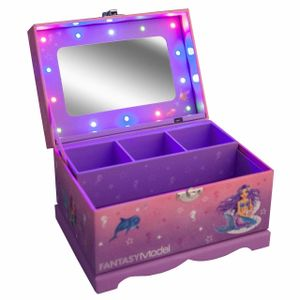 Depesche Fantasy Model Mermaid Jewellery Box with Lights & Mirror