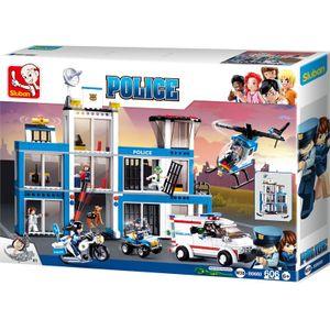 Torro Bausteine Set - Polizeistation