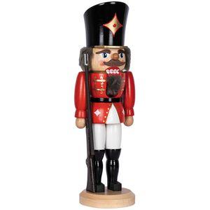 Nussknacker Soldat in roter Uniform