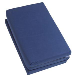 roba Kinder-Reisefaltmatratze 120 x 60 cm, blau