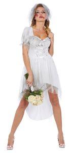 Rubie's dress up Kostüm Bloody Bride Damen weiß Größe 38