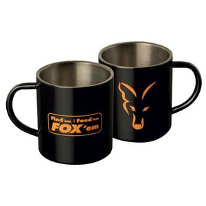 Fox Stainless Steel Mug Tasse aus Edelstahl