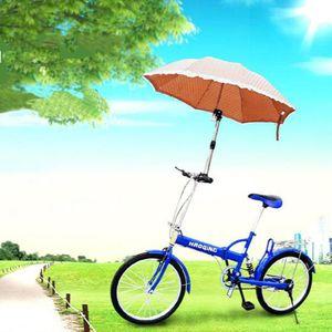 Einstellbar Fahrrad Regenschirm Halter Klapp Kinderwagen Trolley Sonnenschirm Stehen Unterstützung