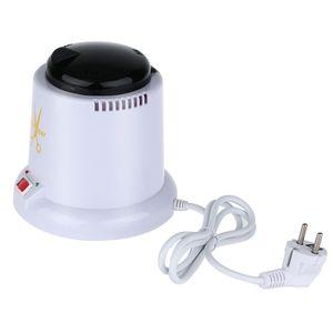 Nagel Kunst Autoklav Scissor Manikuere Sterilisator Dampfmaschine mit 150g Desinfektion Glas Bead 220V EU Stecker