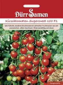 Dürr Samen - Kirsch-Tomaten Supersweet 100 F1