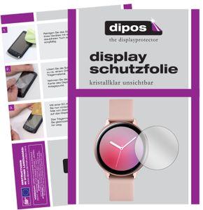2x Samsung Galaxy Watch Active 2 40mm Schutzfolie klar Displayschutzfolie Folie