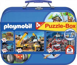 Playmobil. Puzzle-Box 2 x 60, 2 x 100 Teile