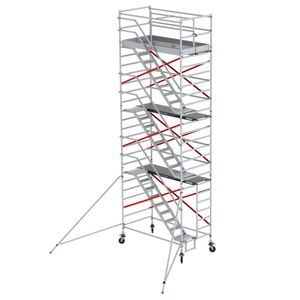 Altrex Treppengerüst RS Tower 53-S Aluminium Safe-Quick mit Fiber-Deck Plattform 8,20m AH 1,35x1,85m