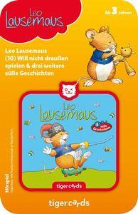 tigercard - Leo Lausemaus (10): Will nicht draußen spielen - Tigermedia Karten