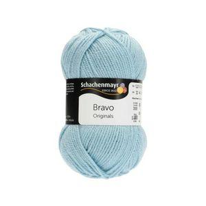 Schachenmayr Bravo Wolle - Farbe: 08384 eisblau