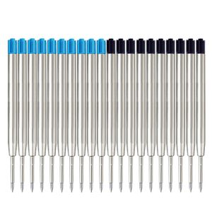 0,7 zehn Verkaufs blau Metall Nachfüllung Kugelschreibermine G2 Kohlenstoff ein Mindestbestellschreib fließend neutralen Kern