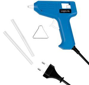 LogiLink Mini-Heißklebepistole 10 Watt blau