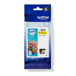 Brother LC424Y - Gelb - original - Tintenpatrone