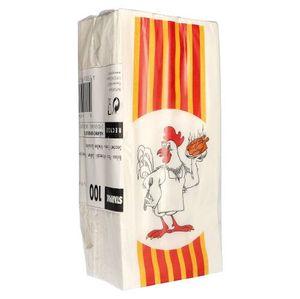 1000 tradingbay24 Hähnchenbeutel, Papier mit HDPE-Einlage 28 cm x 13 cm x 8 cm Grillhähnchen 1/1 tbU90147 Hähnchentüten Warmhaltebeutel Ganzes Hähnchen