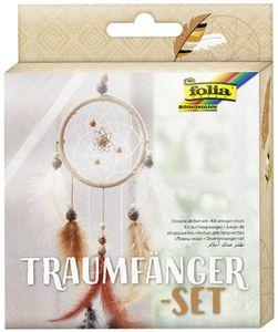 "folia Traumfänger-Set ""ETHNO"" 35-teilig Durchmesser: 120 mm"
