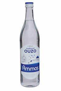 Ouzo Ammos 700ml 37,5% Gatsios griechischer milder Tresterbrand Trester Schnaps