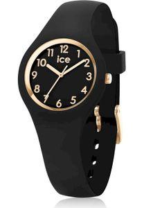 Ice-Watch 015342 Damenuhr Ice Glam Schwarz/Gold XS