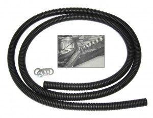 Kettenschutz Chainrunner 1-fach schwarz, per Stück 1,43m