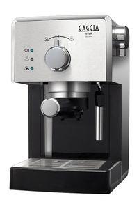 Gaggia 8435/11 Traditionelle Espressomaschine, Kunststoffgehäuse, Milchaufschäumer