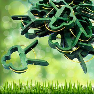 100x Pflanzenclips Pflanzenbinder Pflanzenklammer Pflanzen Binder Halter Groß