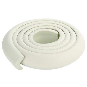 2M Eckschutz Kantenschutz Kinder Baby Tisch Schaumstoff Schutz Leiste Sicherung Ecken- & Kantenschutz Farbe : Weiß