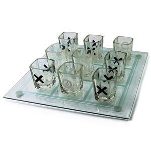 Trinkspiel XXO Partyspiel Schnaps Saufspiel Tic-Tac-Toe Party Game
