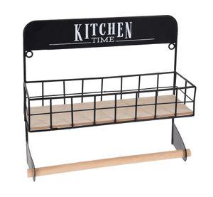 1.09 Küchenregal mit Küchenrollenhalter - Kitchen Time
