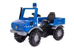 Rolly Toys RollyUnimog Police Junior Blau/Schwarz