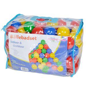 knorr toys Bälleset Ø6 cm - 100 Stück im Plastikbag; 56780