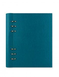 Filofax Clipbook A5 in petrol blue